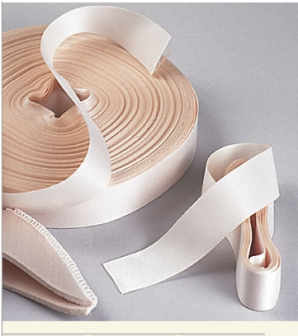 Pointe Shoe Ribbons and Elastic
